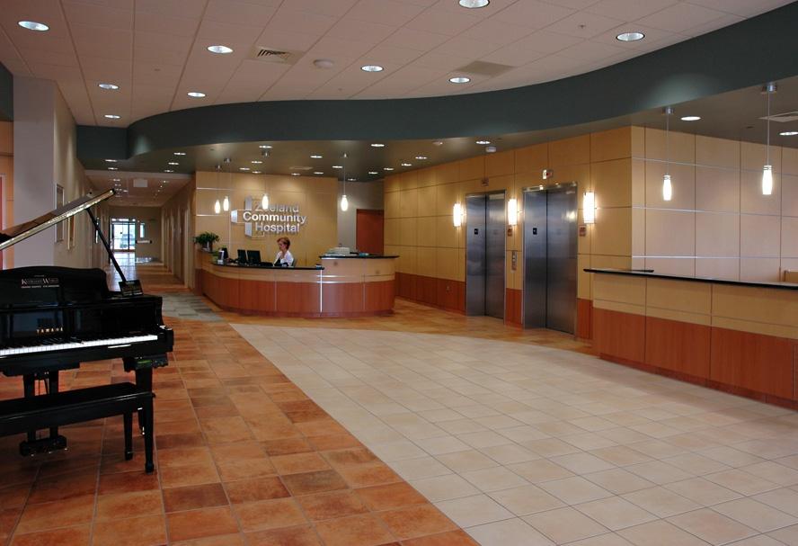 Interior of Zeeland Community Hospital in Zeeland, MI