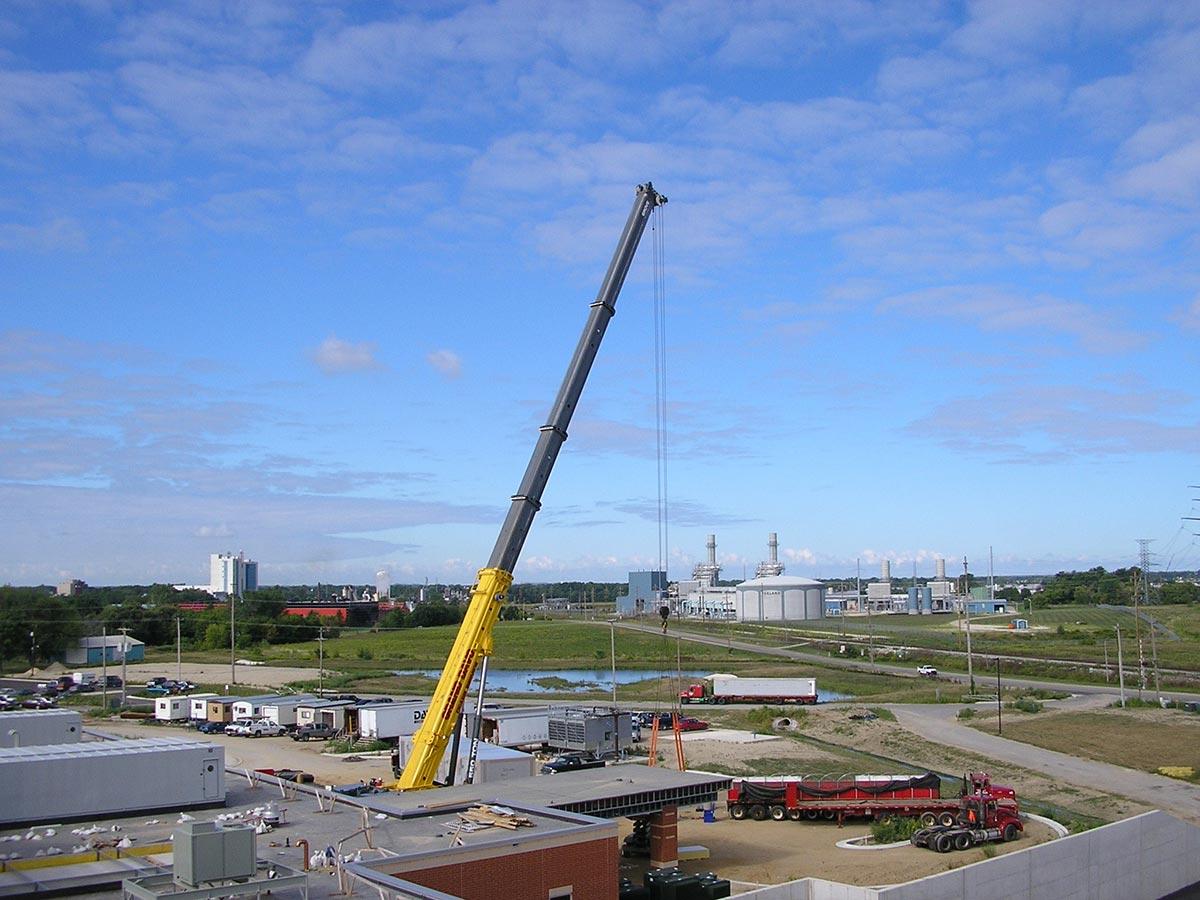 Big lift at Zeeland Community Hospital